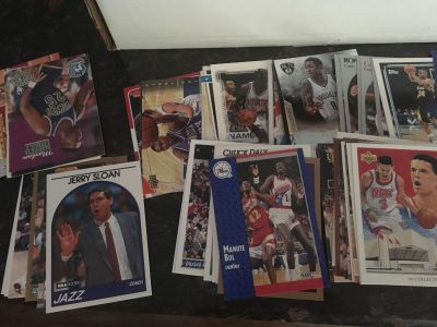 NBA trading card set nearly 600 cards in all!