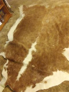 Authentic cow hide rug
