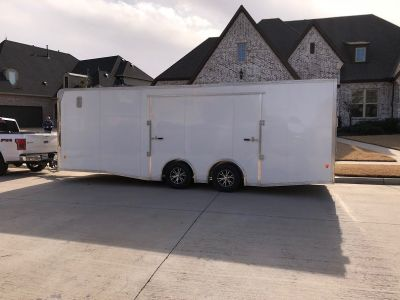2017 Mission EZ Aluminum Enclosed Trailer