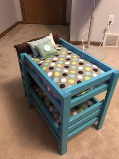 Adorable Doll Bunk Bed