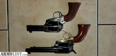 For Trade: Pair of Uberti Cattlemans.