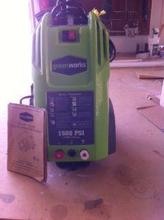 Pressure Washer 1500 PSI
