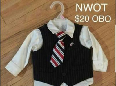 4-piece 12mon boy suit