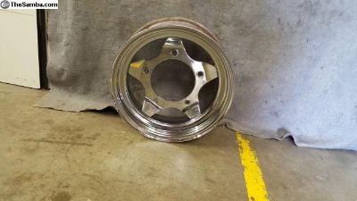 Chrome Wide-5 Offroad Wheel 15x6 sold each