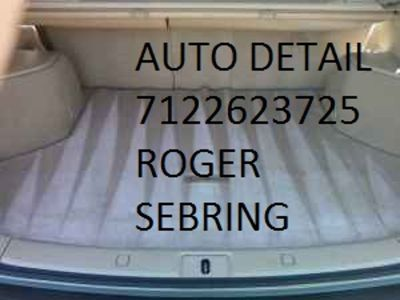 GET THAT NEW CAR FEEL AGAIN INSIDE/OUT CALL ROGER SEBRINGS AUTO DETAILING*712-262-3725