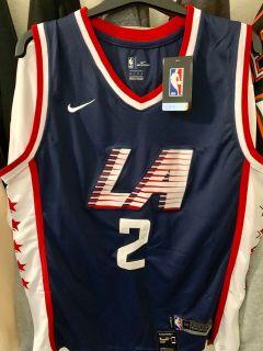 Authentic Kawhi Leonard City Edition LA Clippers Jersey