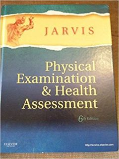 Jarvis Physical Exam Student Manual 6th edition