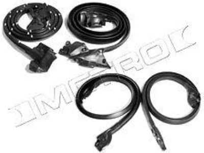Buy 1973-1977 El Camino / GMC Sprint 4 Piece Basic Weatherstrip kit, NEW! motorcycle in Southington, Connecticut, US, for US $149.95