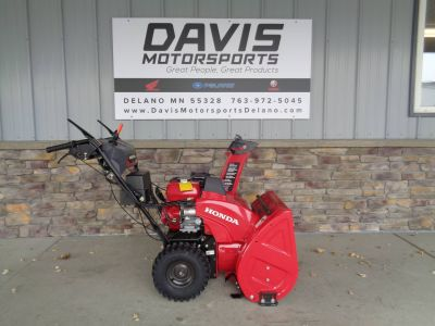 2018 Honda Power Equipment HSS724AWD Snowblowers Lawn & Garden Delano, MN