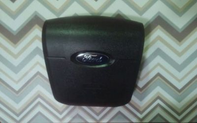Find 07-10 FORD EDGE AIR BAG FRONT DRIVER WHEEL BLACK motorcycle in Salt Lake City, Utah, United States, for US $160.00