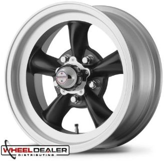 """Purchase 15x7-15x8"""" BLACK AMERICAN RACING TORQ THRUST D WHEELS, DODGE CHARGER 1970 1971 motorcycle in Spring, Texas, United States, for US $729.00"""