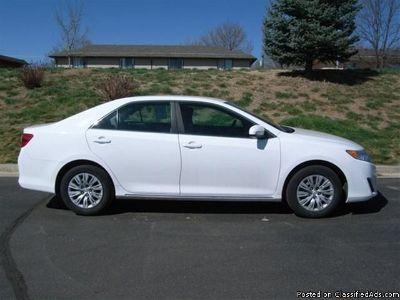 Like NEW 2012 Toyota Camry Sedan