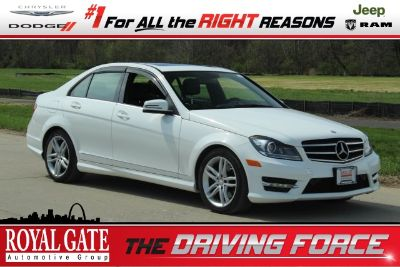 2013 Mercedes-Benz C-Class C300 4MATIC Luxury (Polar White)