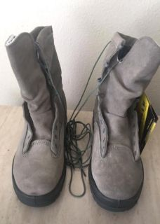 NEW Belleville 675ST 600g Insulated Waterproof Air Force Steel Toe Boots (Sage)