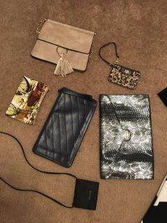 lot of bags / clutches