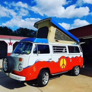 **REDUCED** Hippie Van 1979 VW Camper