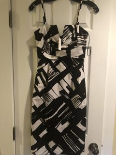 White House Black Market cocktail dress. New with tags.Size:00