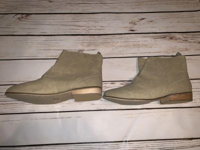 NEW Miss Me Clover Tan Beige Cowboy Booties Boots Size 10