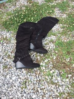 Size 10 Long black boots