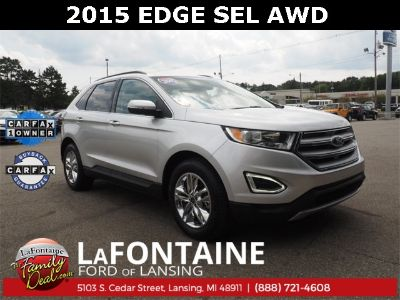 2015 Ford Edge SEL (Ingot Silver Metallic)