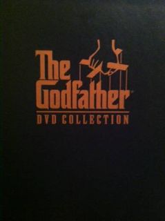 The Godfather DVD collection- 5disc set