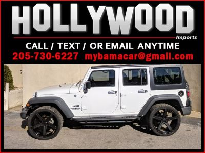 2015 Jeep Wrangler Unlimited SPORT (White)