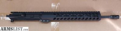 "For Sale: PSA 16"" Midlength Melonite 5.56 1/7 Pencil 13.5"" M-lok Upper w/ BCG and CH ($150)"