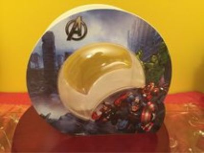 MARVEL AVENGERS Assemble Initiative Lunar Double Sided Fish Tank .6 Gallon Small