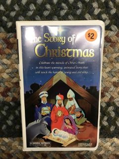The Story of Christmas (VHS)