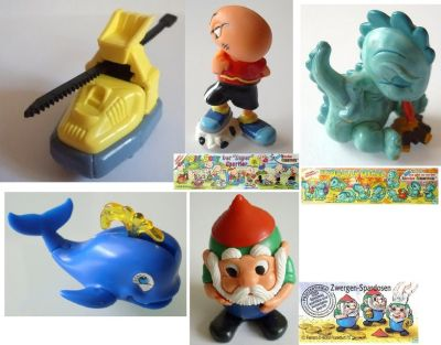 Kinder Egg collectibles Vintage Early '90s