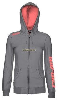 Purchase Can Am Kappa Designed For Can-Am Hoodie - Gray motorcycle in Sauk Centre, Minnesota, United States, for US $64.99