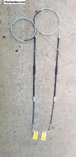 Emergency brake cables BRAND NEW