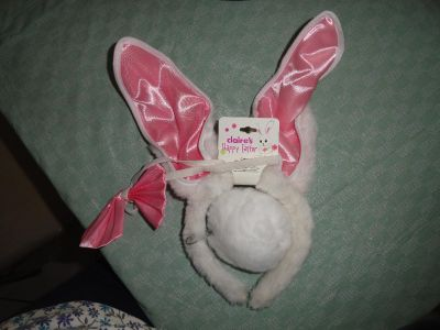 3 PC BUNNY SET FOR COSTUME