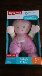 NEW Fisher Price baby's first doll