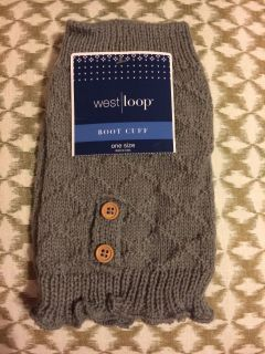 New with tag Boot Cuffs