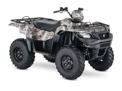 2017 Suzuki KingQuad 750AXi Power Steering Camo Utility ATVs Jonestown, PA