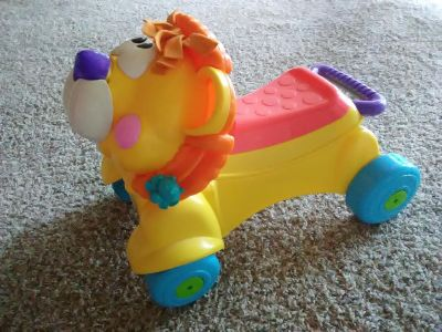 Musical Riding LION & Push Toy-FREE CHAIR