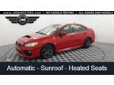 Used 2017 Subaru WRX Pure Red, 48.7K miles