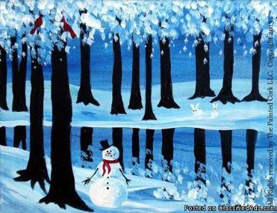 Sacramento Studio 12/28: Winter Trees ~ DATE NIGHT!