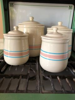 McCoy Pottery canister set