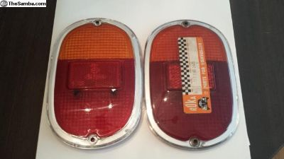 NOS Euro Spec Bay Split Tail Light Taillight Lense