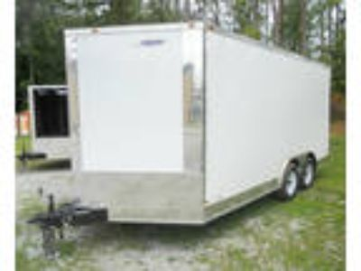 2019 Freedom 8.5 x 16 Enclosed Cargo Trailer 7.5 Tall SKU 69706