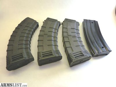 For Sale: 2 AK74, 1 AK47 1AR15 mags