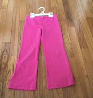 Pink cotton pants- girls 6