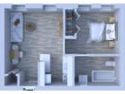 Beachwalk Apartments - One BR Floor Plan A4