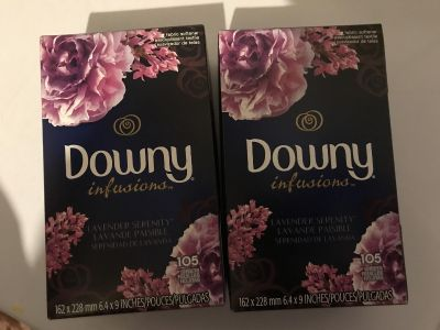 Downy Infusions Dryer Sheets - Lavender Serenity