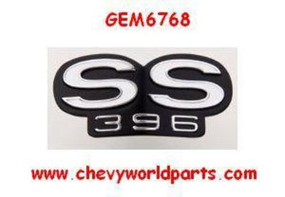 Purchase 1969 CAMARO SS396 GRILL EMBLEM FOR RS GRILL 69 motorcycle in Bryant, Alabama, US, for US $33.95