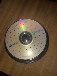 Memorex Music Cd-r's