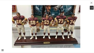 Redskins Hogs figurines