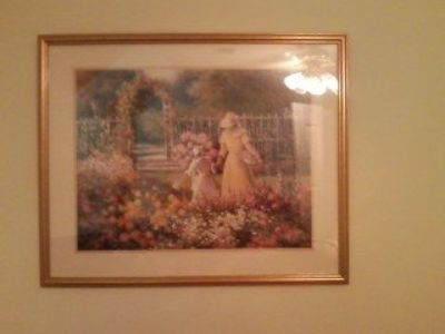 Framed picture (print).